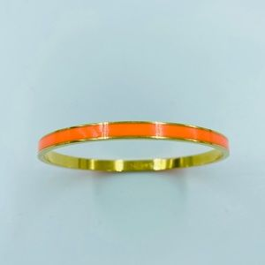 Kate Spade Orange & Gold Bangle Bracelet Sparks